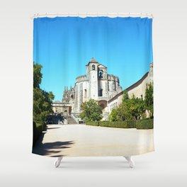 Portugal, Tomar (RR 188) Analog 6x6 odak Ektar 100 Shower Curtain