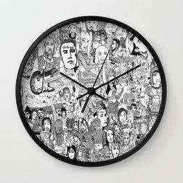 Horror Vacui Wall Clock