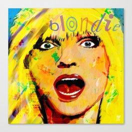 ROCK ICON DEBBIE HARRY Canvas Print