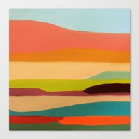 palo alto Canvas Prints featuring alto by sylvie demers