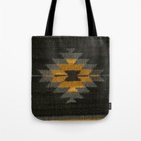 kilim Tote Bags featuring wool kilim by Storm + Stress