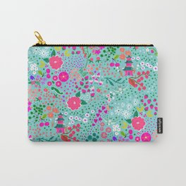 Happy Pagoda Patten Carry-All Pouch