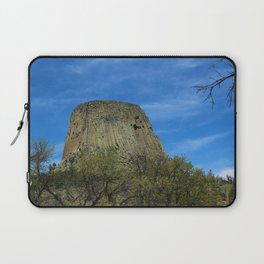Devils Tower View Laptop Sleeve