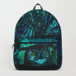 Blue Owls Backpack