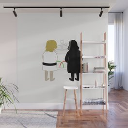 Saber Fight Wall Mural