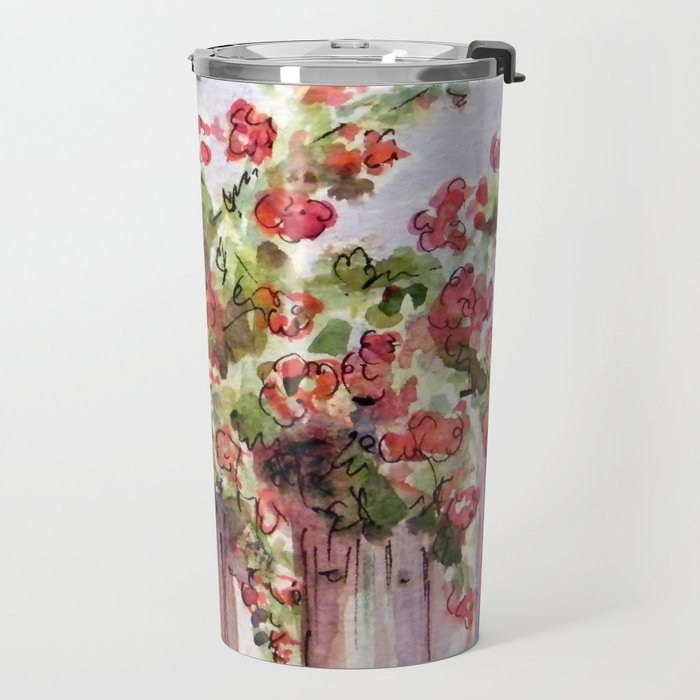 Roses: Over the Top Travel Mug