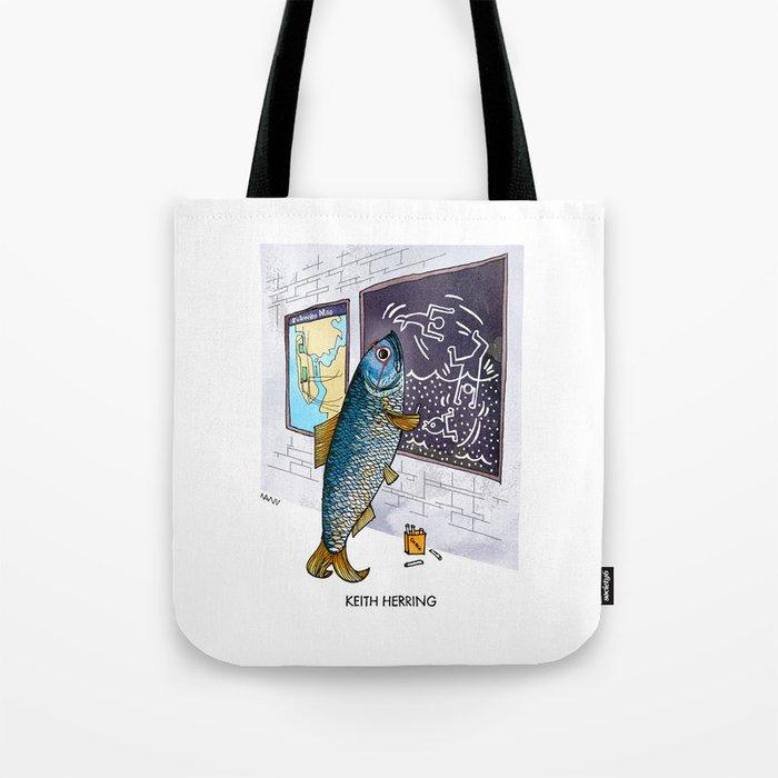 Keith Herring Tote Bag