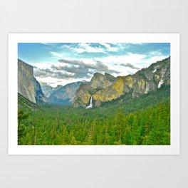 Yosemite POSTCARD Art Print