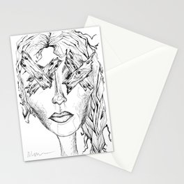 They Say Eyes Are Windows To Our Soul Stationery Cards
