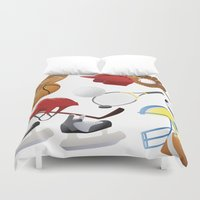 sports Duvet Covers featuring sports! by Dues Creatius