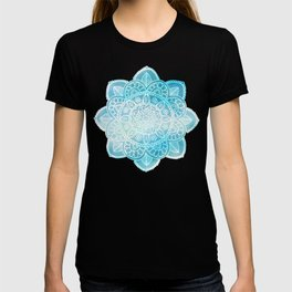Mandala Blue Cloudy Sky T-shirt