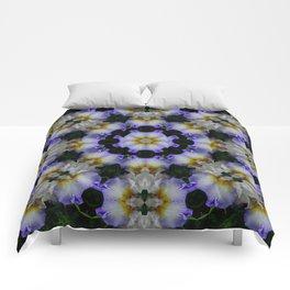 Mandala ~ Iris 94-E2 Comforters