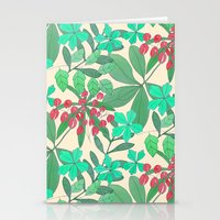 botanical Stationery Cards featuring Botanical by Louise Elizabeth