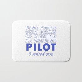 PILOT'S DAD Bath Mat