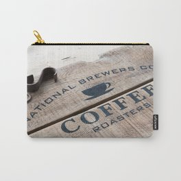 Coffee Crate Carry-All Pouch