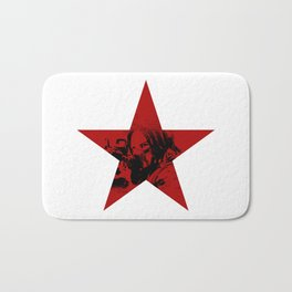 Winter Soldier Star Bath Mat