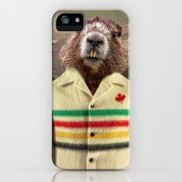 Hudson Beaver iPhone Case