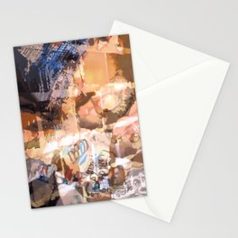 Hindered by Traces of Mistaken Perfection Stationery Cards