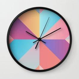 Geometric Pattern VIII Wall Clock