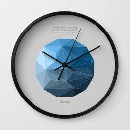 Continuum grey Wall Clock