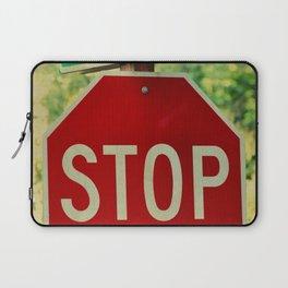 CHOW MEIN LANE - STOP Laptop Sleeve