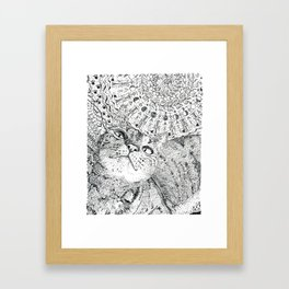 Mandala008 Framed Art Print