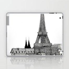 City view of paris Laptop & iPad Skin