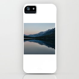 Landscape Photography Of Body Of Water iPhone Case
