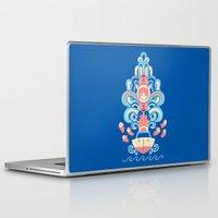 deco Laptop & iPad Skins featuring Ponyo Deco by Ashley Hay
