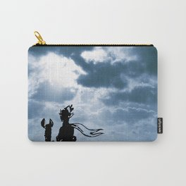 The little prince and the fox - dream version blue - quote Carry-All Pouch