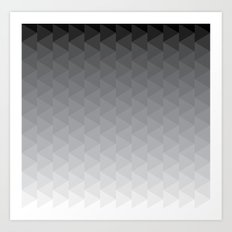 Grayometry Art Print