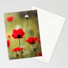 Wild Anemones Stationery Cards