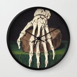 Skeleton Hand Wall Clock