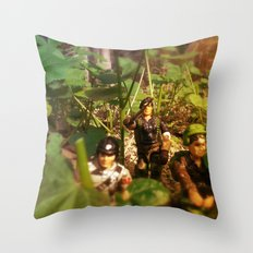 The long wait Throw Pillow