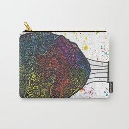 Colourful Hot Air Ballon Carry-All Pouch