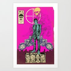 THE MAN FROM OSAKA Art Print