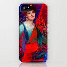 Scarlet Noir iPhone Case
