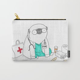 Doctor Pug Carry-All Pouch