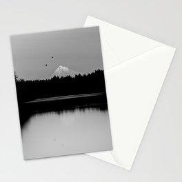 Mound Hood Reflection II Stationery Cards