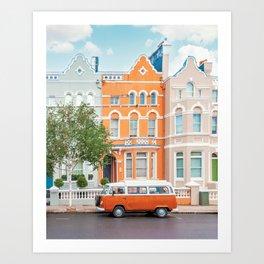 Gorgeous Notting Hill Art Print