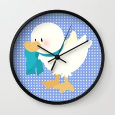 duck (male) Wall Clock