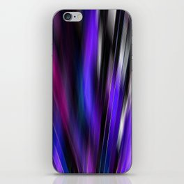 Re-Created  Feather ix by Robert S. Lee iPhone Skin