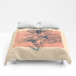 Hibiscus Colors Comforters