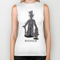 willy wonka Biker Tanks featuring WOnkA by Nicholas Price