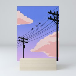 Evening Skyline Mini Art Print
