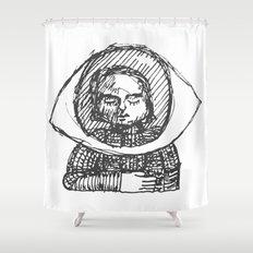 Eye, My Hart Shower Curtain