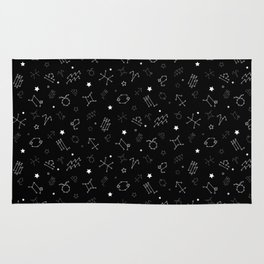 Zodiac Constellation Rug