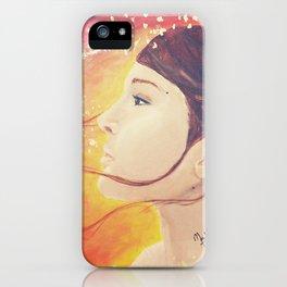 Golden Wind iPhone Case