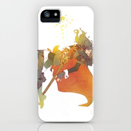 I Challenge My Fate iPhone Case