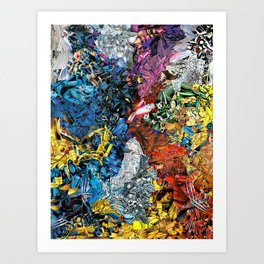 The XMen Art Print